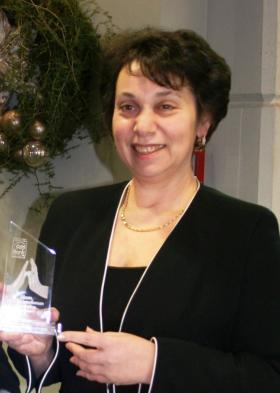 Leiterin der Integrationsagentur Elina Chernova